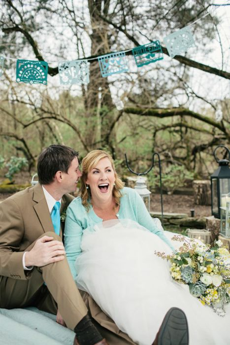 Rustic Tennesee Intimate Wedding