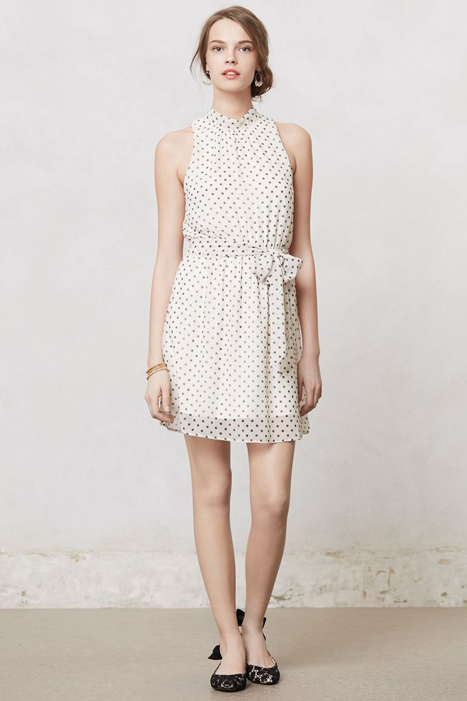 Floral and Printed Bridesmaid Dresses | Anthropologie Deja Dot Dress