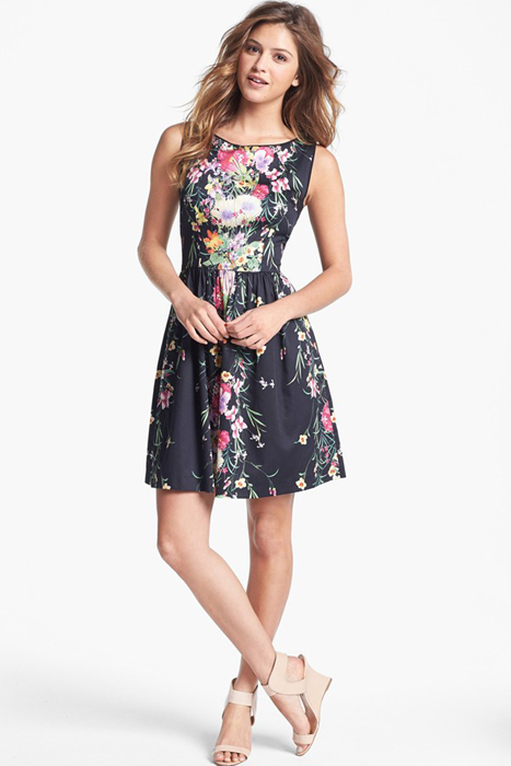 Floral and Printed Bridesmaid Dresses | Ivy & Blu for Maggy Boutique Print Fit & Flare Dress