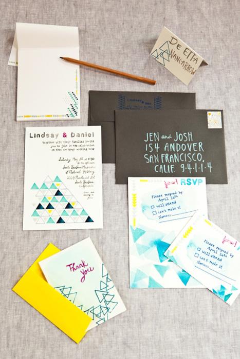 Geometric Wedding Ideas