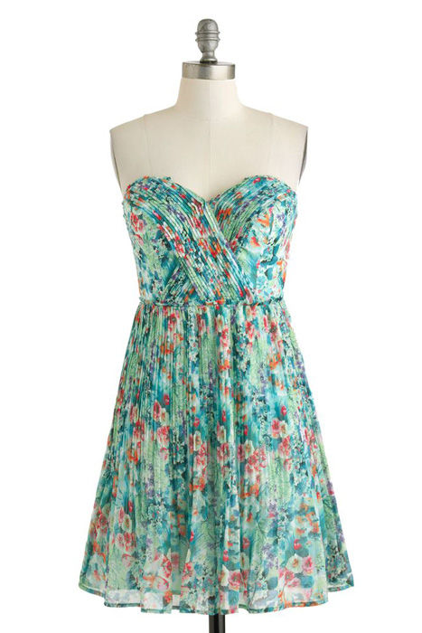 Floral and Printed Bridesmaid Dresses | ModCloth Oceanic Dreaming Dress