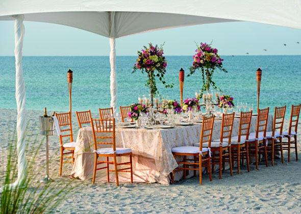 Beach Wedding Ritz Carlton Sarasota