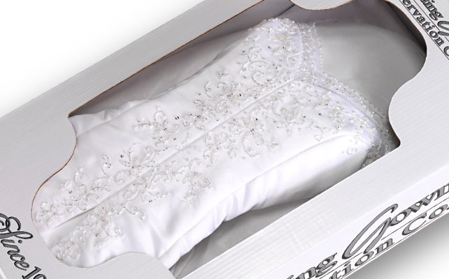 Wedding Dress Preservation Kit To Preserve Your Gorgeous Gown