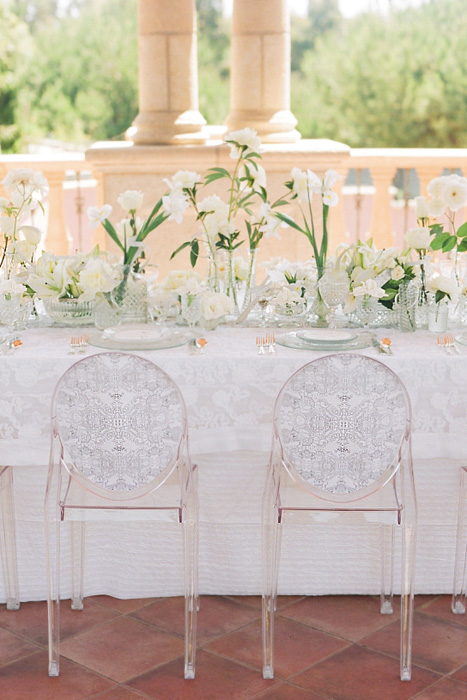 Wedding Trend Ghost Chairs