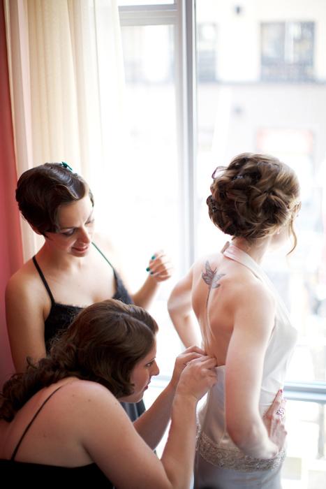 Erin and Jason's Brix Restaurant Wedding
