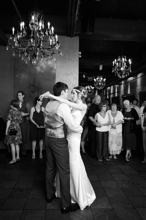 Erin and Jason's Brix Restaurant Wedding
