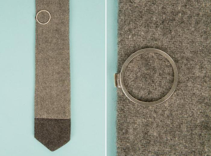 Stylish Groom Accessories | Circle Tie Pin