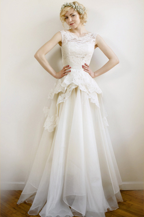 Leanne Marshall Wedding gown