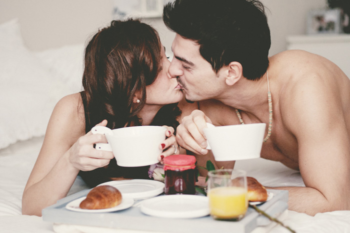 breakfast in bed engagement