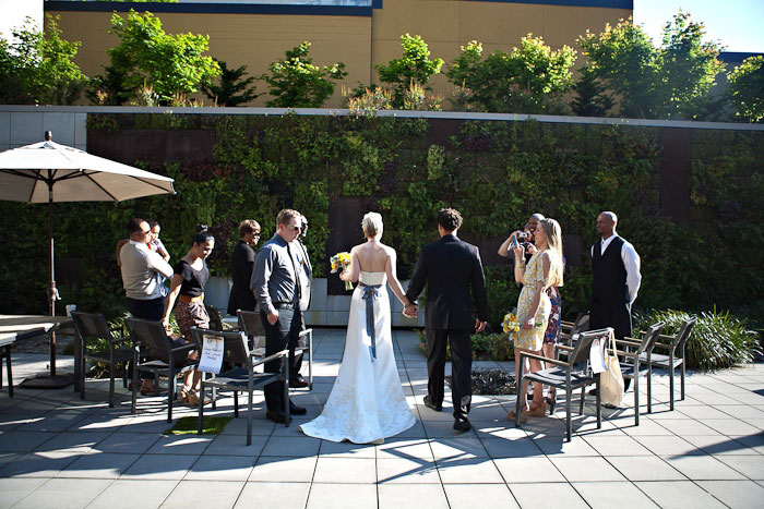 Hotel Modera Wedding Ceremony