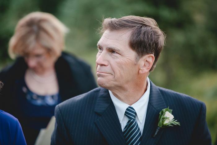 emotional wedding guest