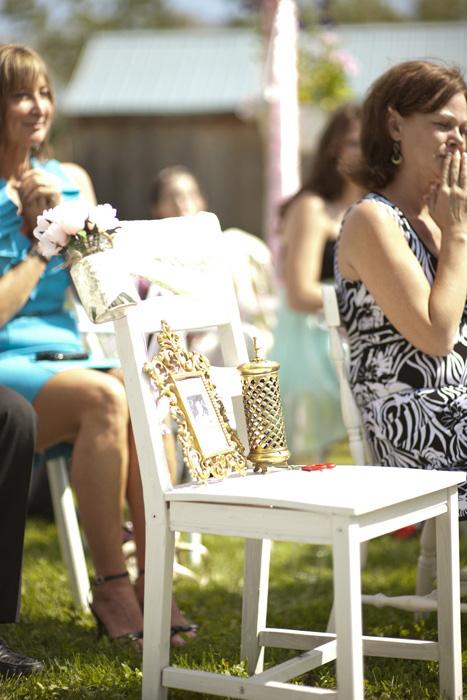 Vintage Farm wedding ceremny