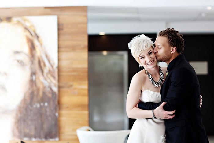 Chic Portland Hotel Wedding