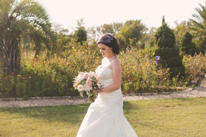 San Michele Texas elopement bride