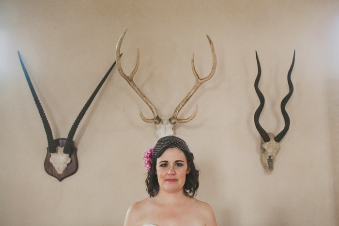 bride with antlers