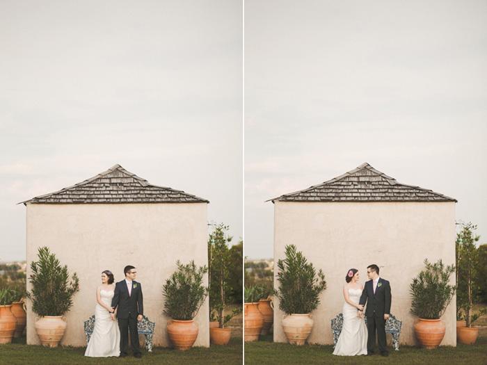 Texas bride and groom