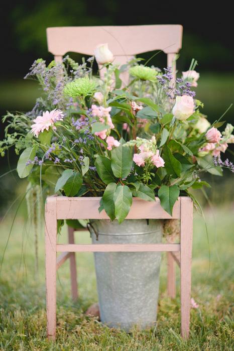 wedding altar flowers