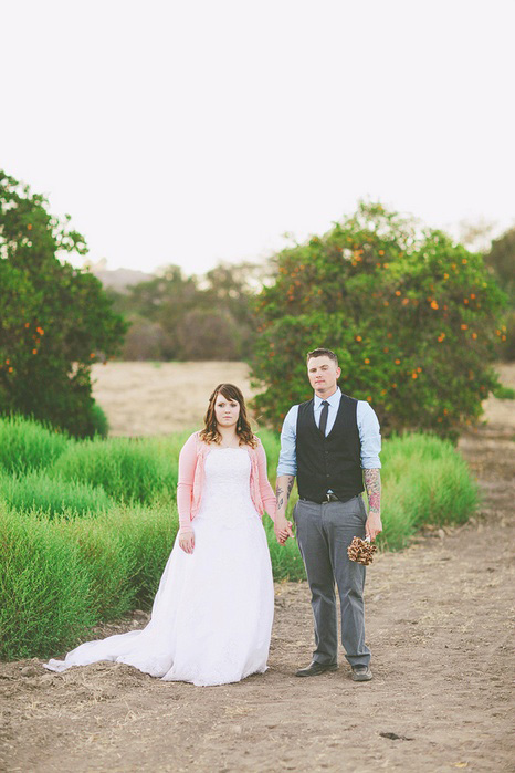 Orange County elopement portrait
