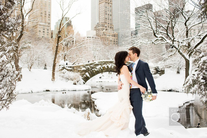 Central Park Winter Wedding