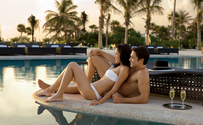 Secrets Resorts pool wait service