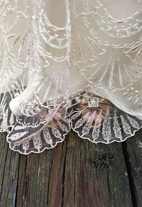 beaded wedding gown
