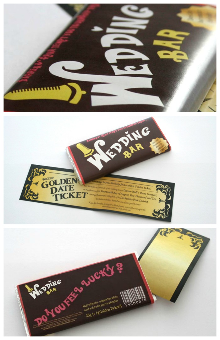 chocolate save the date