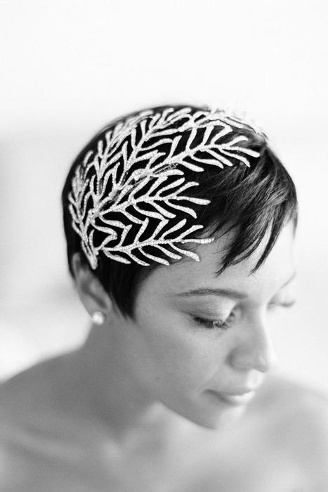 coral hair clip