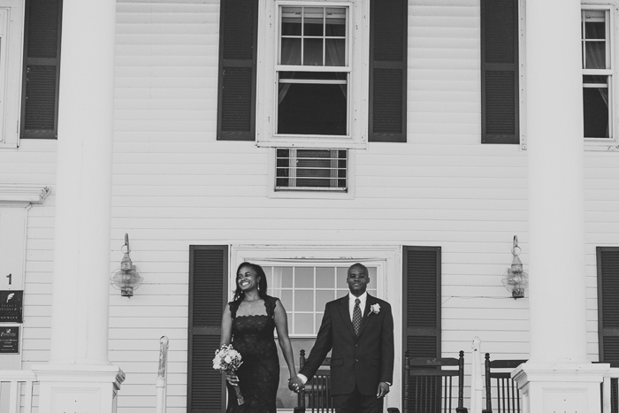 Emerson Inn elopement