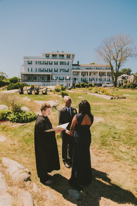 Emerson Inn by the sea elopement