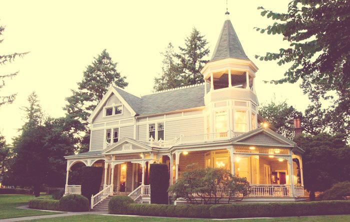 Historic Marshall house wedidng