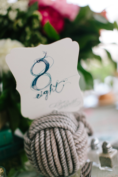 knot table number