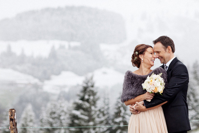 Austrian alps wedding