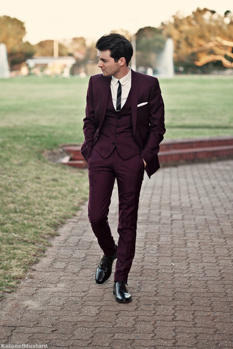 Wedding Trends: Colored Suits