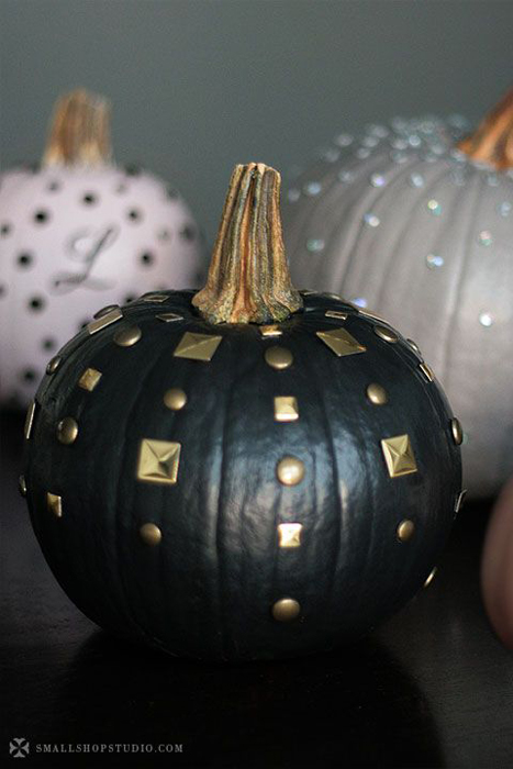 studded pumpkins