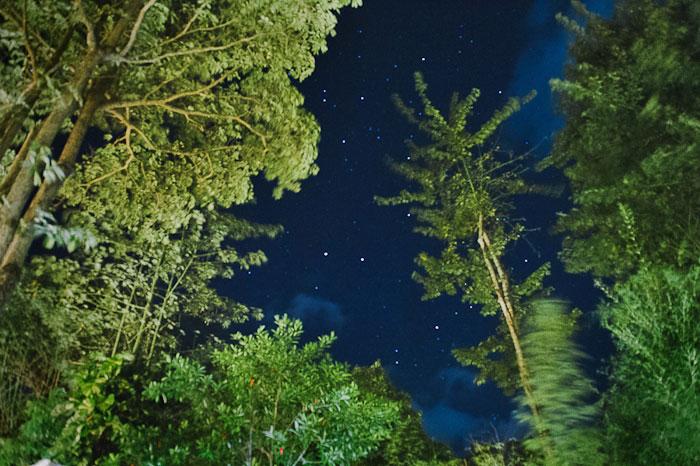 Bali night sky