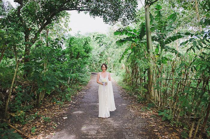 Bride portrait in Bali