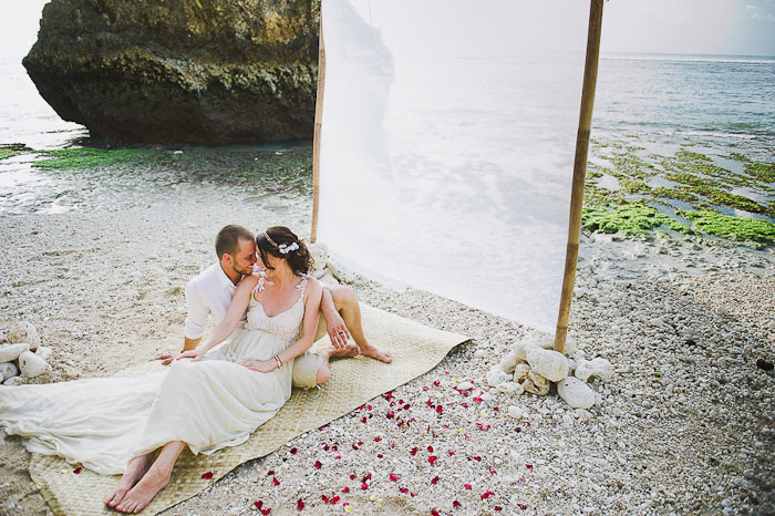 Intimate Bali Destination Wedding