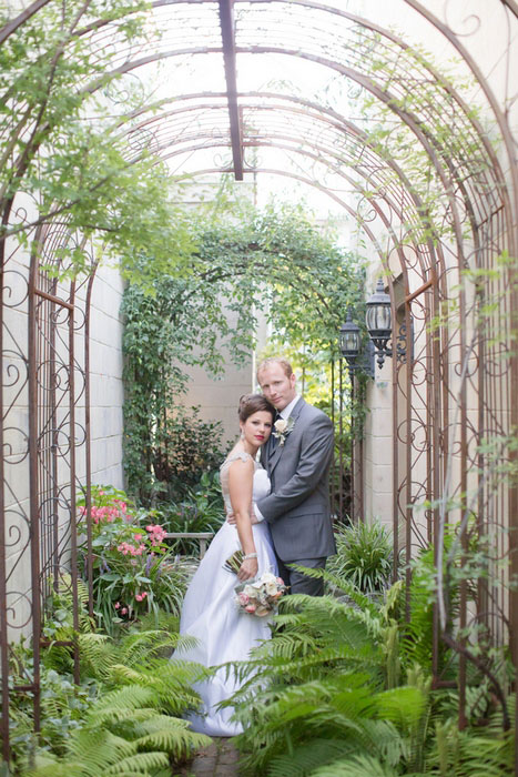 Intimate Virginia Garden Wedding