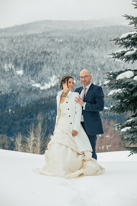 white wedding coat
