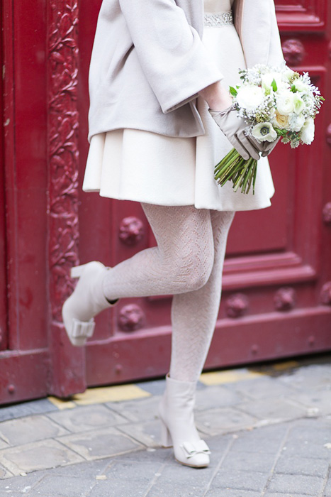 wool wedding tights