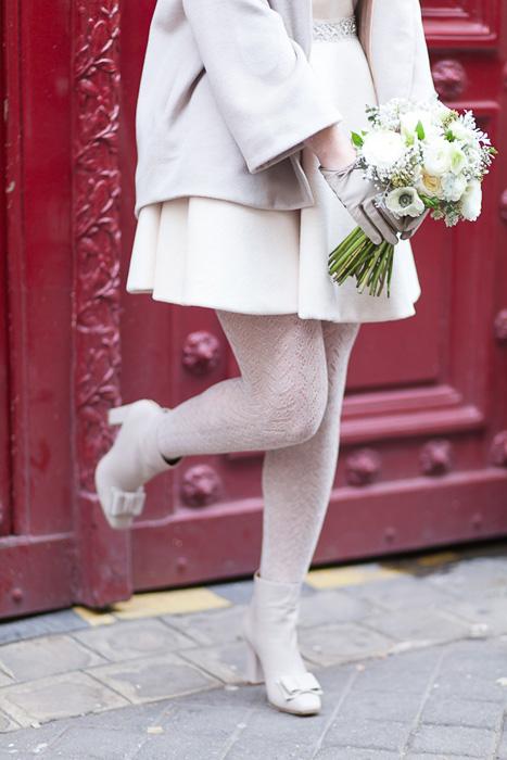 wool wedding tights