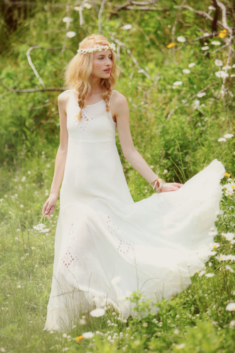 Bohemian Hippie Wedding Dresses