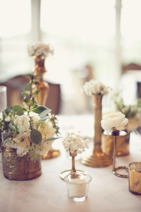 Wedding Trends Copper Brass And Bronze Details