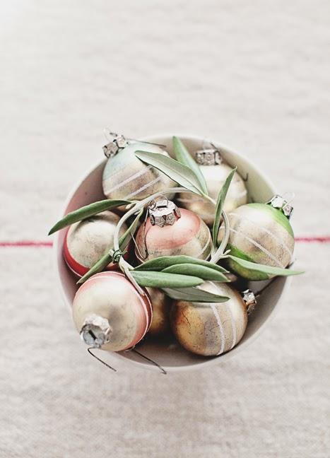 christmas balls vintage