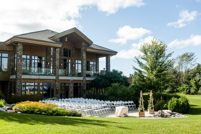 Collingwood golf club wedding ceremony