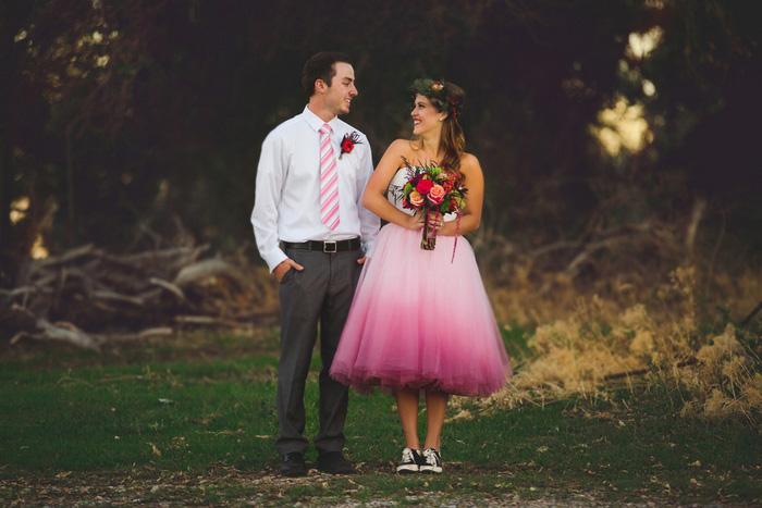 Intimate Salt Lake City Farm Wedding