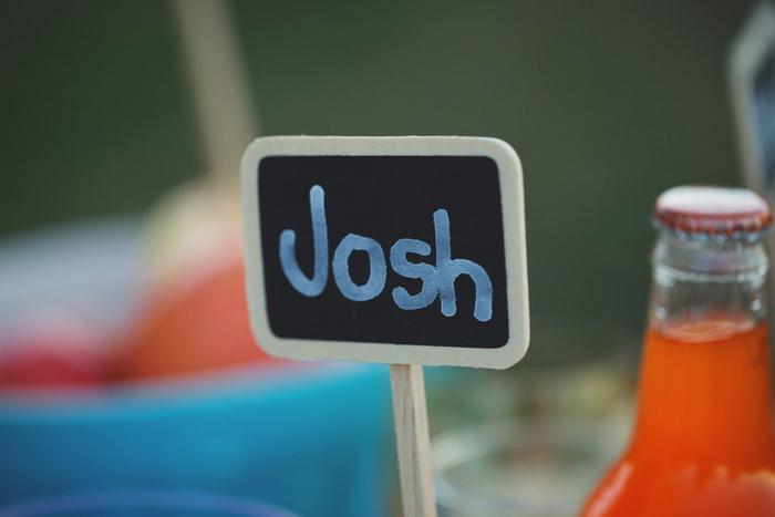 chalkboard place card