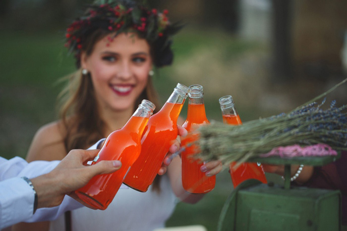 orange soda wedding toast
