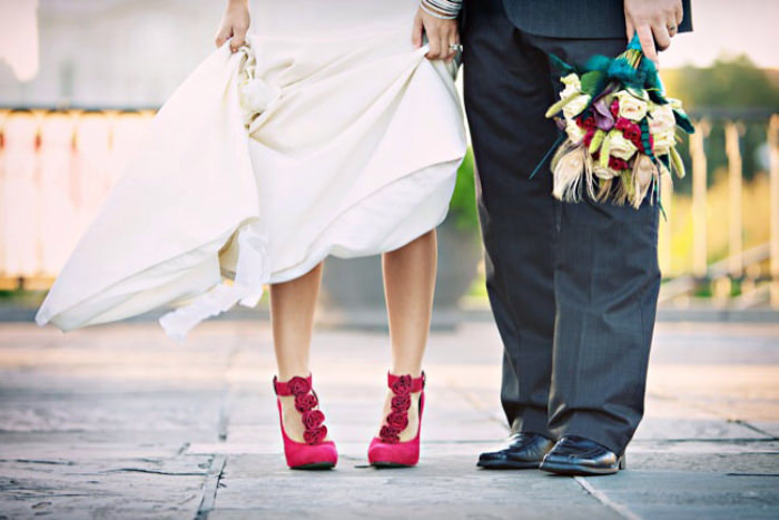 Colorful Wedding Shoes Trend