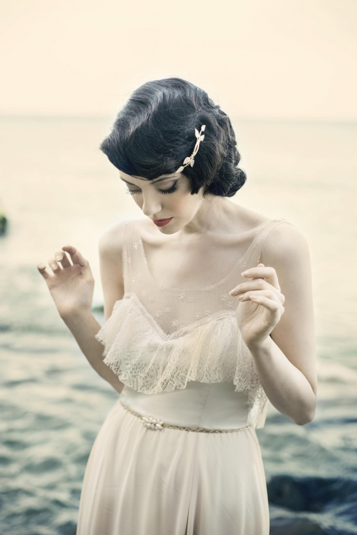 vintage waves wedding